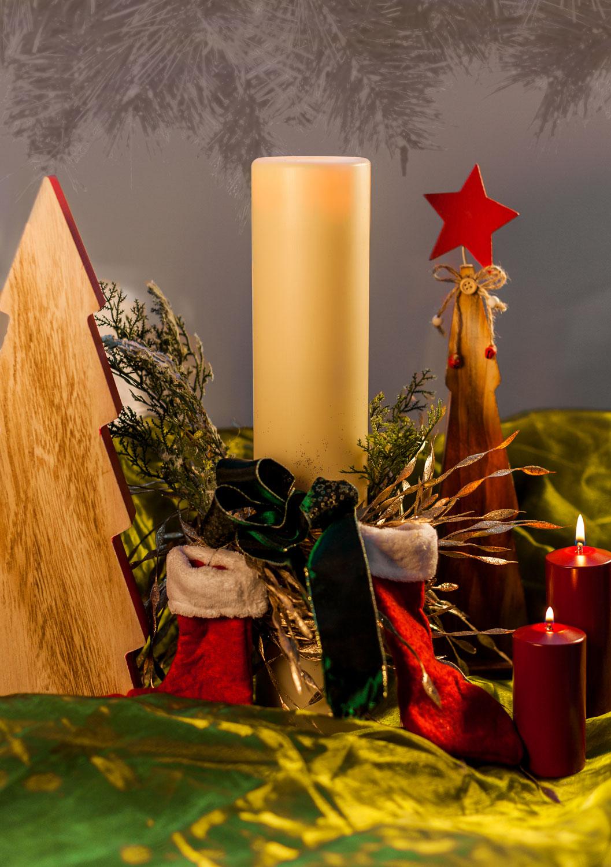 Weihnachtsdeko Cremefarben.Weihnachten Archive Flexilight Flüssigwachskerzen Für