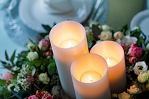 LUXE - Die Kerze die garantiert nicht herunterbrennt!