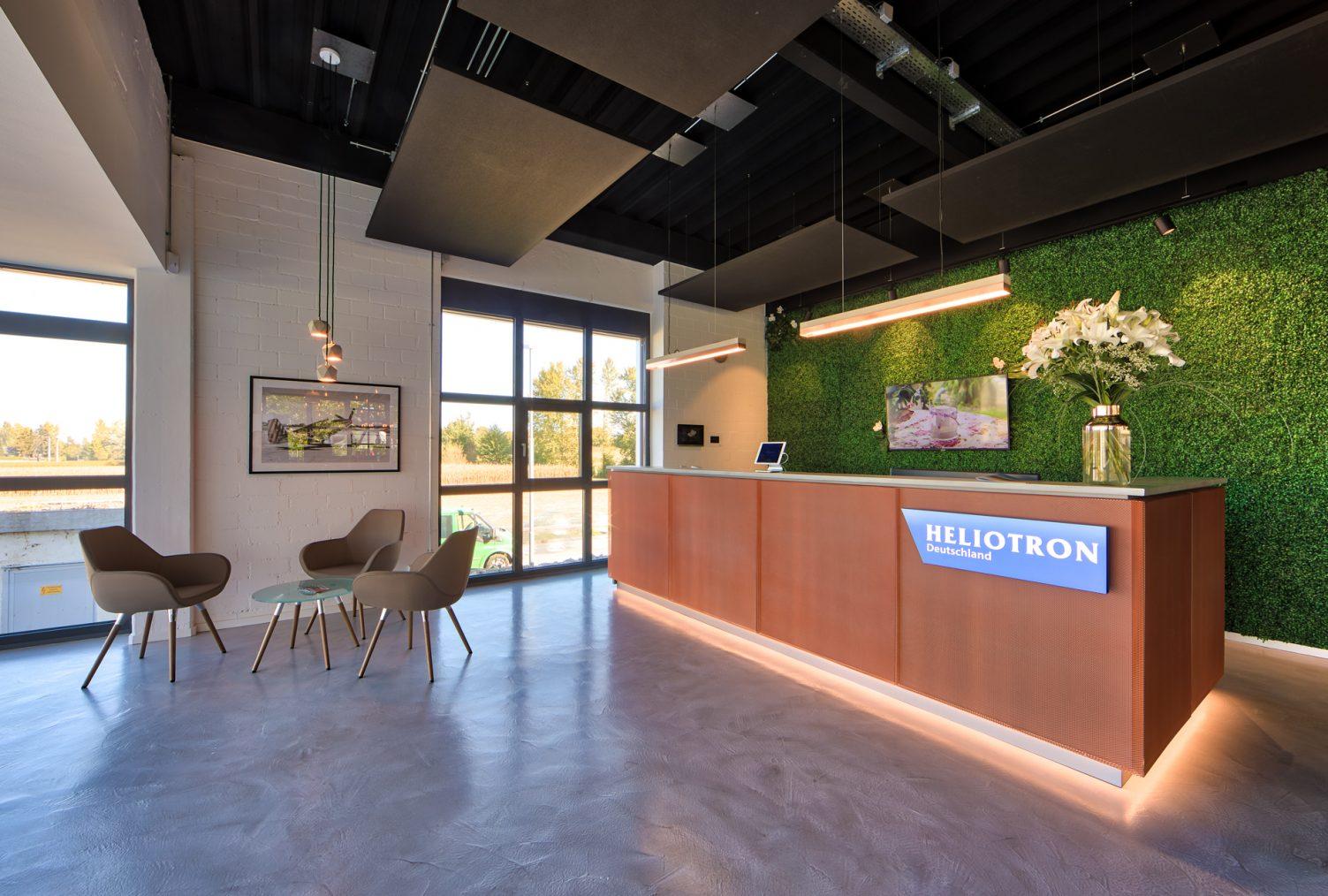 Heliotron Arbeitswelt