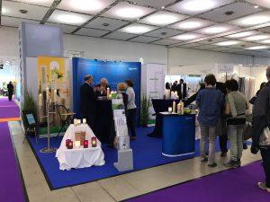 Pieta Dresden 2017 Bestatter Messe Bestattungsbedarf Messeteilnahme Heliotron Dauerkerzen Ewigbrenner Lumis Cara Kerzen